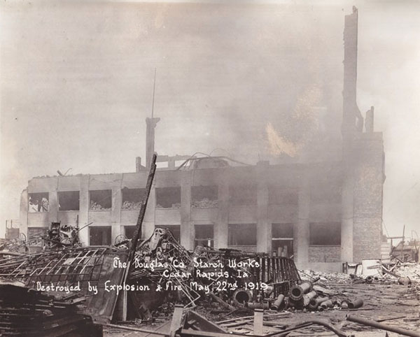 Douglas Starch Works Explodes