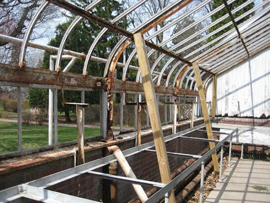Restoring the Historic Greenhouse